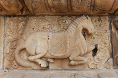 Ancient heritage horse sculpture Stock Image