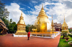 Ancient heritage of Thailand Royalty Free Stock Images