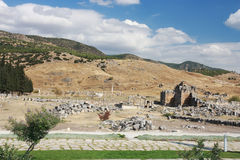 Ancient Hierapolis-Pamukkale. Turkey. Royalty Free Stock Image