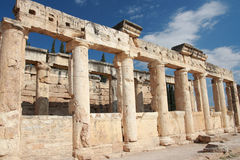 Ancient Hierapolis-Pamukkale. Turkey. Royalty Free Stock Photography