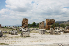 Ancient Hierapolis, Turkey Royalty Free Stock Photos