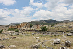 Ancient Hierapolis, Turkey Royalty Free Stock Images