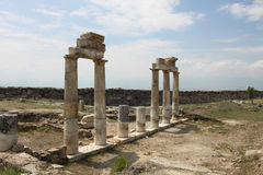 Ancient Hierapolis, Turkey Royalty Free Stock Photo