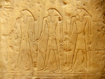 Ancient hieroglyphics on display outside Egyptian museum, Cairo Stock Photo