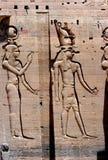 Ancient hieroglyphics Stock Photos