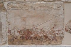 Ancient hieroglyphs Royalty Free Stock Image