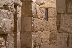 Ancient hieroglyphs Stock Photo