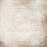Of the ancient hieroglyphs, textured background Stock Photography