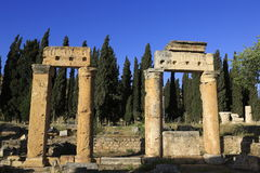 Ancient Hieropolis, Turkey Stock Photos