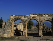Ancient Hieropolis, Turkey Stock Photography