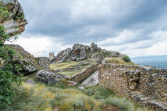 Ancient Hill Fortress Royalty Free Stock Photography