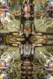 Ancient Hindu Pathirakali Amman temple in Trincomalee, Sri Lanka stock images