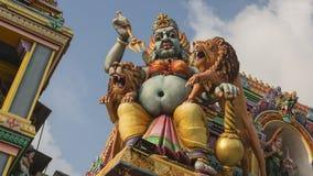 Ancient Hindu Pathirakali Amman temple in Trincomalee, Sri Lanka stock photography