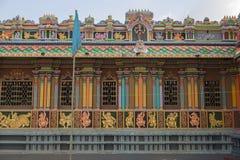 Ancient Hindu Pathirakali Amman temple in Trincomalee, Sri Lanka royalty free stock images
