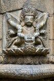 Ancient Hindu statue Stock Photo