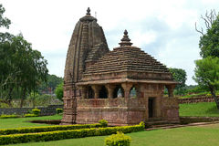 Ancient Hindu Temple at Amarkantak, Chhatisgarh Stock Photos