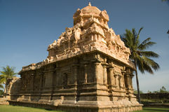 Ancient Hindu Temple in India stock images