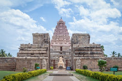 Ancient Hindu temple in India Stock Image