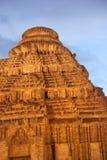 Ancient Hindu temple at Konark. In Orissa,  India Royalty Free Stock Images