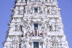 Ancient hindu temple in pushkar stock images