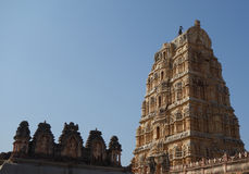 Ancient hindu temple Royalty Free Stock Images