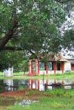 Ancient Hindu Temple at Sri Lanka. Jaffna with reflection Stock Photography