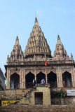 Ancient Hindu Temple in Varanasi, India Royalty Free Stock Photo