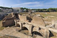 Ancient Hippodrome Circus Maximus in Rome Stock Photos