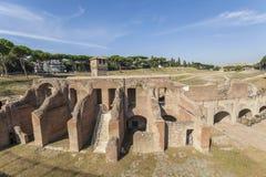Ancient Hippodrome Circus Maximus in Rome Royalty Free Stock Photos