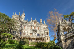 Ancient historic castle Regaleira. Portugal. Ancient historic castle Regaleira. Portugal, Sintra Stock Photography