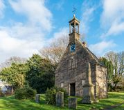 Ancient Historic Church Building Scotland. Royalty Free Stock Image