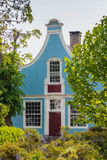 Ancient historic Dutch house in Broek in Waterland stock image