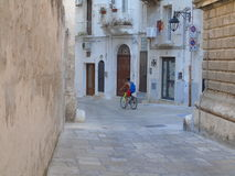 Ancient historical center of Monopoli. Southern Italy Royalty Free Stock Photo