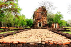 Ancient historical monuments in Petchaboon province ,Thailand. Stock Photo