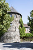 Ancient historical Tower, Lienz, Austria Stock Image