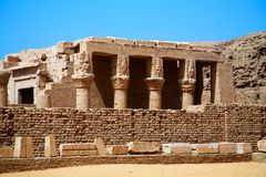 Ancient Horus temple, Edfu, Egypt. Stock Image