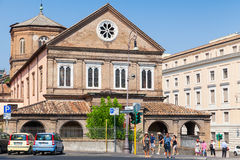 Ancient Hospital of the Holy Spirit in Rome Royalty Free Stock Photos