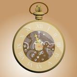 ancient hours nacreous διανυσματική απεικόνιση