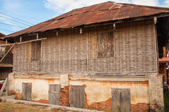 Ancient house. At Chiang Khan, Loei, Thailand Stock Image