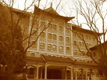 Ancient house. House in China Royalty Free Stock Photo