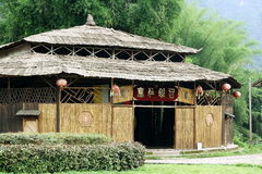 Ancient house in China. This's ancient house in China. Now, it's museum for show antique royalty free stock photography