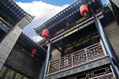 Ancient house of China royalty free stock photo