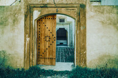 Ancient house facade Royalty Free Stock Photography