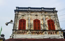 Ancient house in Hoi An, Vietnam stock photos