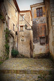 Ancient house in scalea Royalty Free Stock Photography