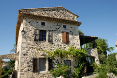 Ancient house in southern France Royalty Free Stock Photo