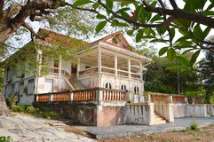 Ancient house of Thai excellency in the past Royalty Free Stock Image
