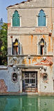 Ancient house in Venice Stock Photo