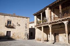 Ancient houses Royalty Free Stock Images