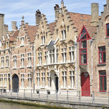 Ancient houses in Bruges, Belgium Stock Photography